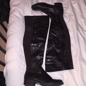 Knee high boot stretch back - New - never worn